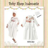 Gamis Anak Premium Baju Muslim Anak Cewek Murah Gamis Simply Flowers