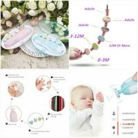 Kandila - Baby Electric Manicure Set (Nail Trimmer) - Merah Muda