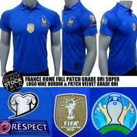 JERSEY PRANCIS HOME FULL PATCH EURO 2019-2020 FRANCE HOME