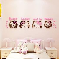 WALL STIKER HK SWEET BAHAN ACRILIK UK XL (150X33)