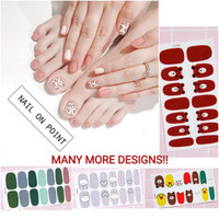 Nail on Point Sticker - Stiker kuku bayi dan dewasa - Nail art