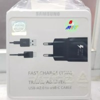 Samsung Travel Charger S8 / S8+ Plus Fast USB Type C Ori New Pack