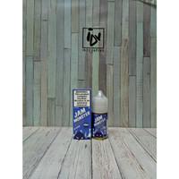 E LIQUID VAPOR VAPE - JAM MONSTER BLUEBERRY SALTNIC 48MG / 30ML