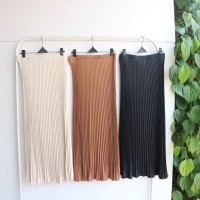 Rok Skirt CS - (JUMBO) Rok Plisket Mayung / Maxi Skirt Wanita