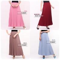 Rok Skirt Susan.ID rok Maxi Plisket Wanita Termurah Fit to XL