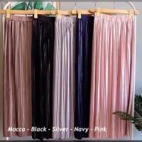 Rok Skirt ROK PLISKET PAYUNG / rok polos plisket panjang / rok