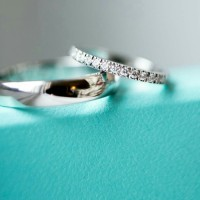 cincin kawin nikah tunangan couple platinum bisa custom model kadar10%