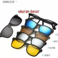 Kacamata sunglasses magnet 5 in 1