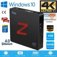 Z85 Mini PC Intel Atom X5-Z8350 Windows10 4/64 Dual Display/Dual Wifi