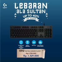 Logitech G512 Carbon RGB Mechanical Gaming Keyboard Resmi Logitech 2Th