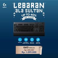 Logitech G613 Wireless Mechanical Gaming Keyboard Garansi Resmi 2 Thn