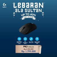 Logitech G Pro / GPro Wireless Gaming Mouse Garansi Resmi 2 Tahun
