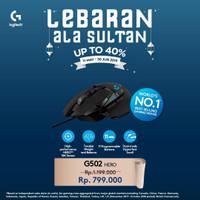 Logitech G502 HERO 16K Gaming Mouse Garansi Resmi 2 Tahun