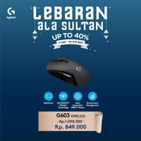 Logitech G603 Lightspeed Wireless Gaming Mouse Garansi Resmi 2 Tahun