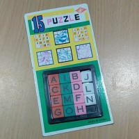 Mainan Puzzle Geser Jadul 90an