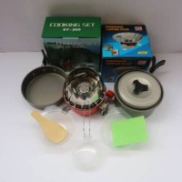 paket cooking set ds/sy 200 plus kompor windproof merk kovar