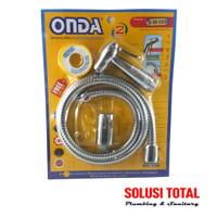 Jet Shower / Shower Cebok ONDA S 88 CCS Chrome flexible hose seal
