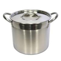 Panci Supra Stockpot 25 Qt Stainless Steel
