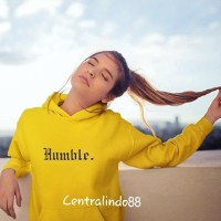 Jaket sweater hoodie jumper pria wanita humble 18warna