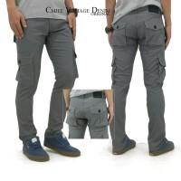 TERJAMIN Celana Dh Denim Cargo SBNO