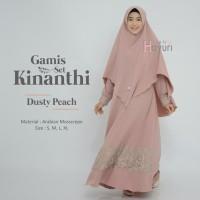 Gamis / Dress Set Kinanthi (GAMIS + BERGO) • Original by Hayuri