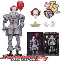 JS NECA Ultimate Pennywise IT 2017 Joker Clown Horror Movi Limited