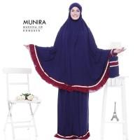 Mukena Dewasa ORI Munira Mukena 08 Mukena Rayon Polos Kombinasi Warna
