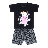 Cow 1 - 7 Tahun MAXKENZO Setelan Baju Anak Zilvia Store Berkualitas