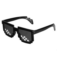 top BIKIGHT Retro Freestyle Glasses Thug Life Pixel Fashion