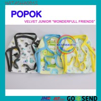 Harga velvet junior popok kain bayi newborn velvet junior halus murah isi | antitipu.com