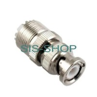 Connector Konektor Antena HT BNC Male to PL259 SO239 Female BL Limited