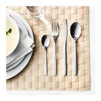 IKEA FORNUFT Peralatan Makan, Sendok, Garpu, 24 pcs, Baja Tahan Karat