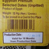 HOT SALE Kurma mesir golden valley 10 kg bukan kurma tunisia kurma