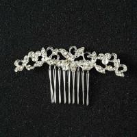 Hiasan Rambut Head Piece Hair Piece Pesta Sirkam Silver Arch