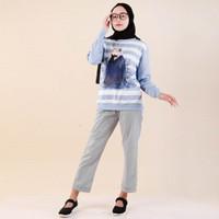 Jual Sweater Wanita Muslimah Full Print Kartun Muslim Berhijab Kab Bandung Fikastore Tokopedia