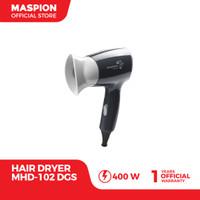 Maspion Hair Dryer MHD-102DGS Pengering Rambut (Warna Hitam)