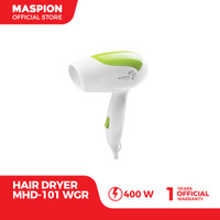 Maspion Hair Dryer MHD-101WGR Pengering Rambut (Warna Hijau)
