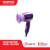 Maspion Hair Dryer MHD-102PRP Pengering Rambut (Warna Ungu)