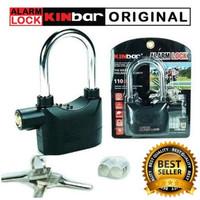 gembok Kinbar alarm lock kunci merk kinbar