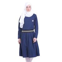 HRCN MIDI RIBS Women Longdress Gamis Muslimah Wanita - H 3040