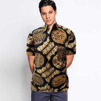 Kemeja Batik Pria Motif Gunungan Seragam