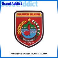 Pacth Karet Pramuka Logo Kwarda Sulawesi Selatan