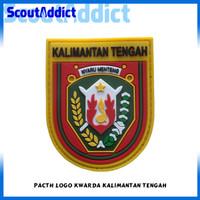 Pacth Karet Pramuka Logo Kwarda Kalimantan Tengah