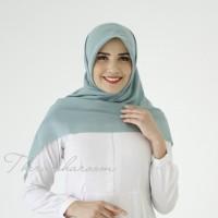 hijab voal ultrafine theraisharoom lasercut mint