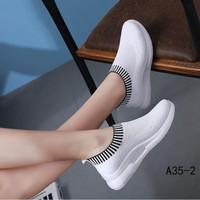 pwshop88 sepatu slip on wanita so018, 3 warna