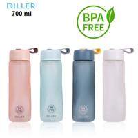 BOTOL AIR MINUM TERMOS DILLER 700 ml TRITAN BPA FREE Frosted Series