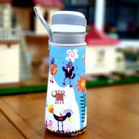 Tas Termos Sarung Botol Minum Elastis dengan Tali PENDEK