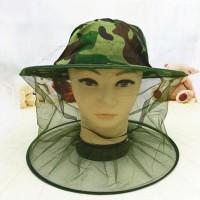 Topi Mancing Jaring / Topi Anti Nyamuk Lebah