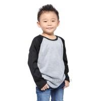 Farhan Outdoor Hana Baju Kaos T Shirt Raglan Anak Cowok / Cewek