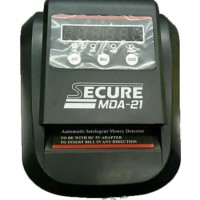 SECURE MDA21 - MONEY DETECTOR - MESIN DETEKSI TESTER UANG